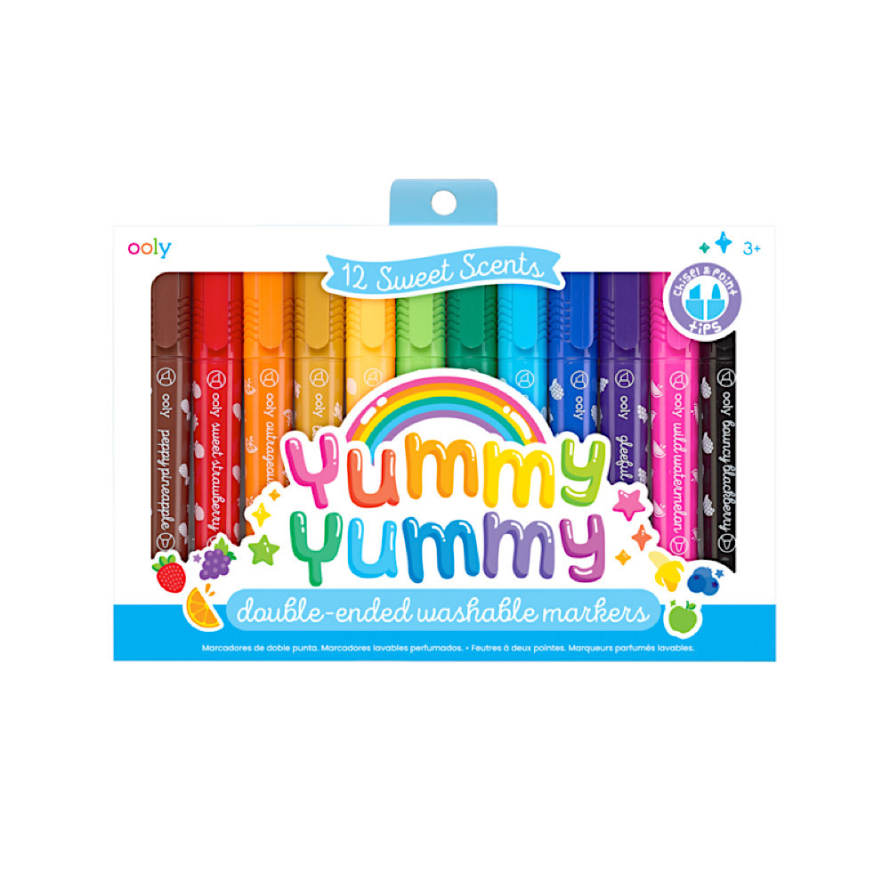 Yummy Double Ended Washable Markers