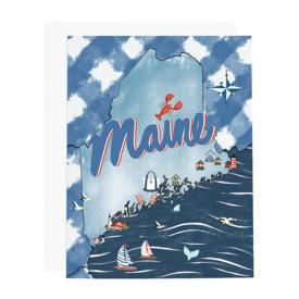 Ramus & Co Ramus & Co Card - Maine Map
