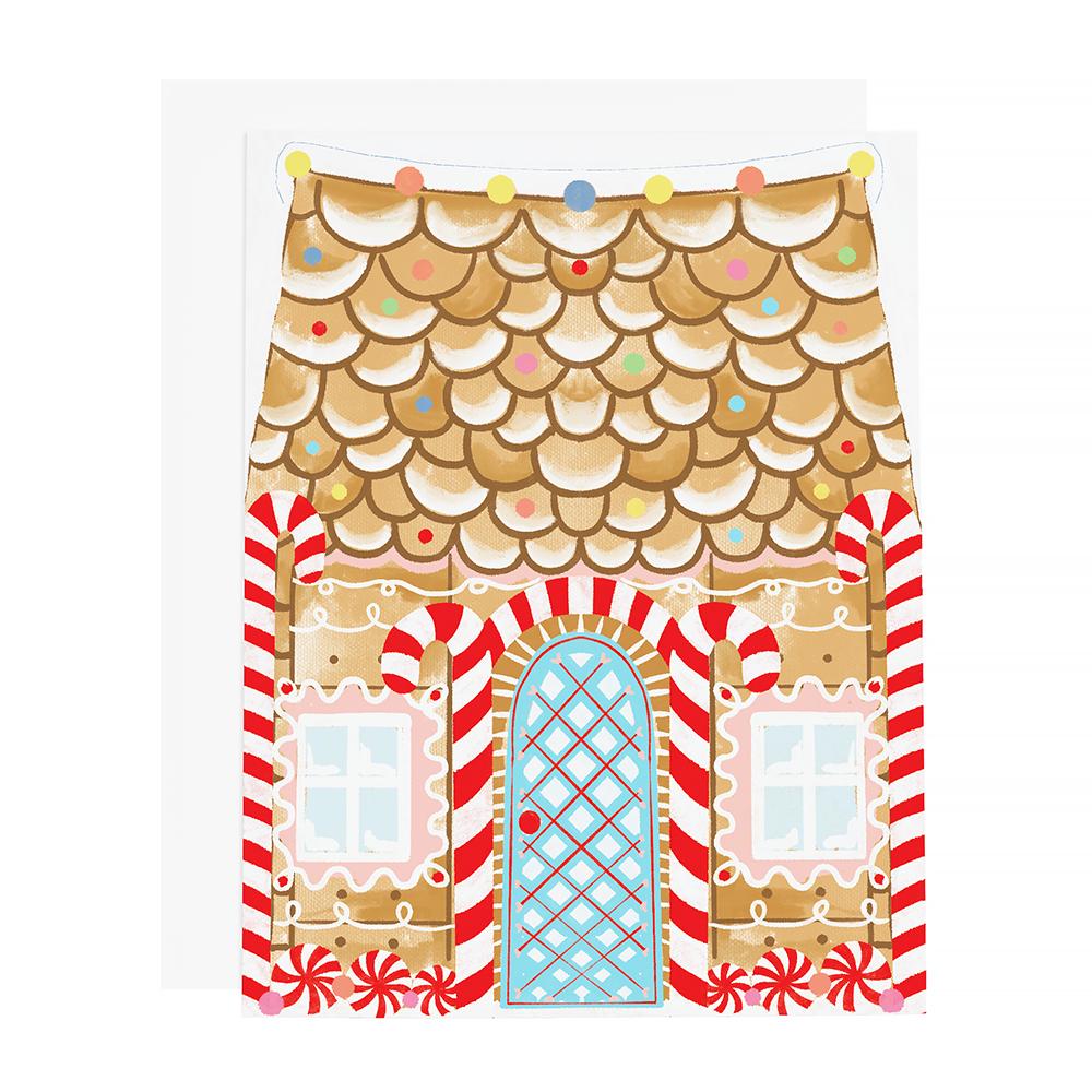 Ramus & Co Card - Gingerbread House