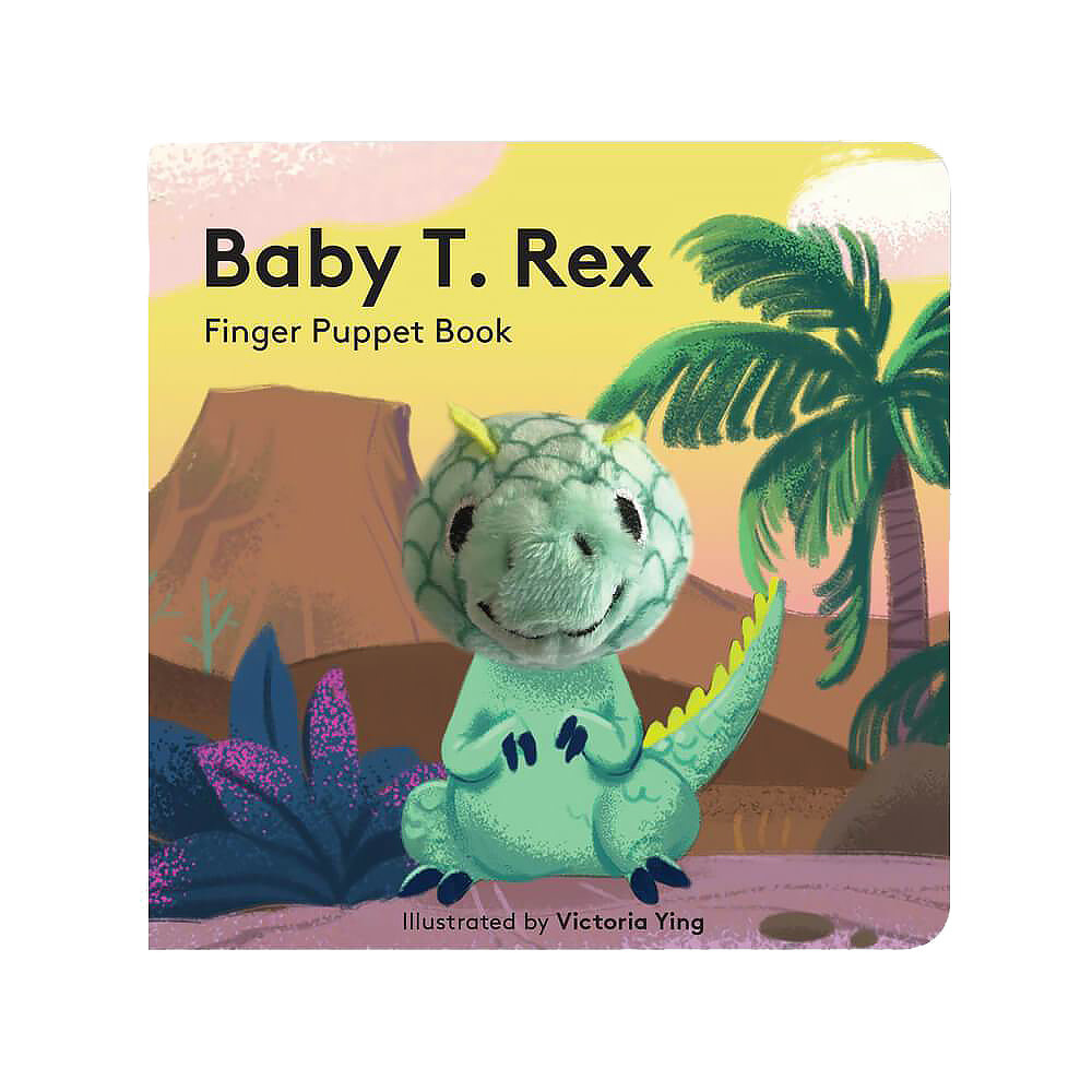 Chronicle Baby T Rex - Finger Puppet Book