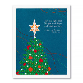 Compendium Holiday Card - Joy Is A Light That Fills You