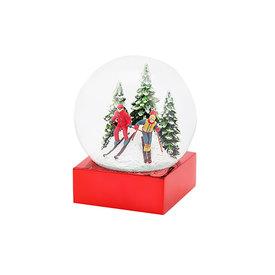One Hundred 80 Degrees Ski Snow Globe