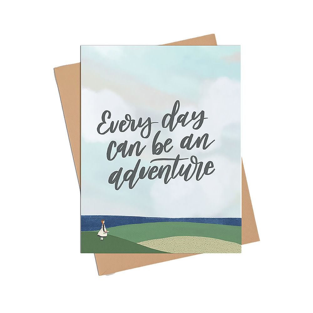 Happy Sappy Mail Card - Everyday An Adventure