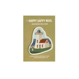 Happy Sappy Mail Happy Sappy Mail Sticker - Lighthouse Anne
