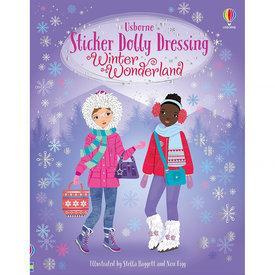 Usborne Sticker Dolly Dressing Winter Wonderland