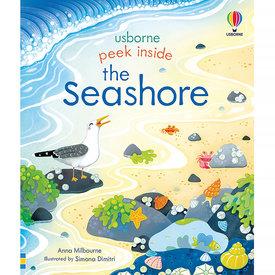 Usborne Peek Inside The Seashore Board Book