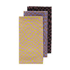 Baggu Baggu Reusable Cloth Set - Trippy Checkers