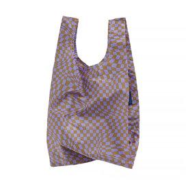 Baggu Baggu Baby - Lavender Trippy Checker