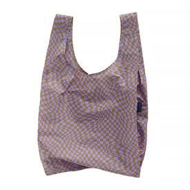 Baggu Baggu Standard - Lavender Trippy Checker