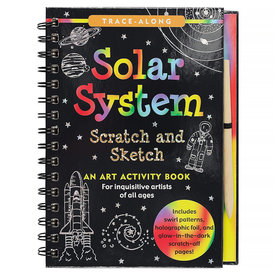 Peter Pauper Scratch and Sketch Solar System