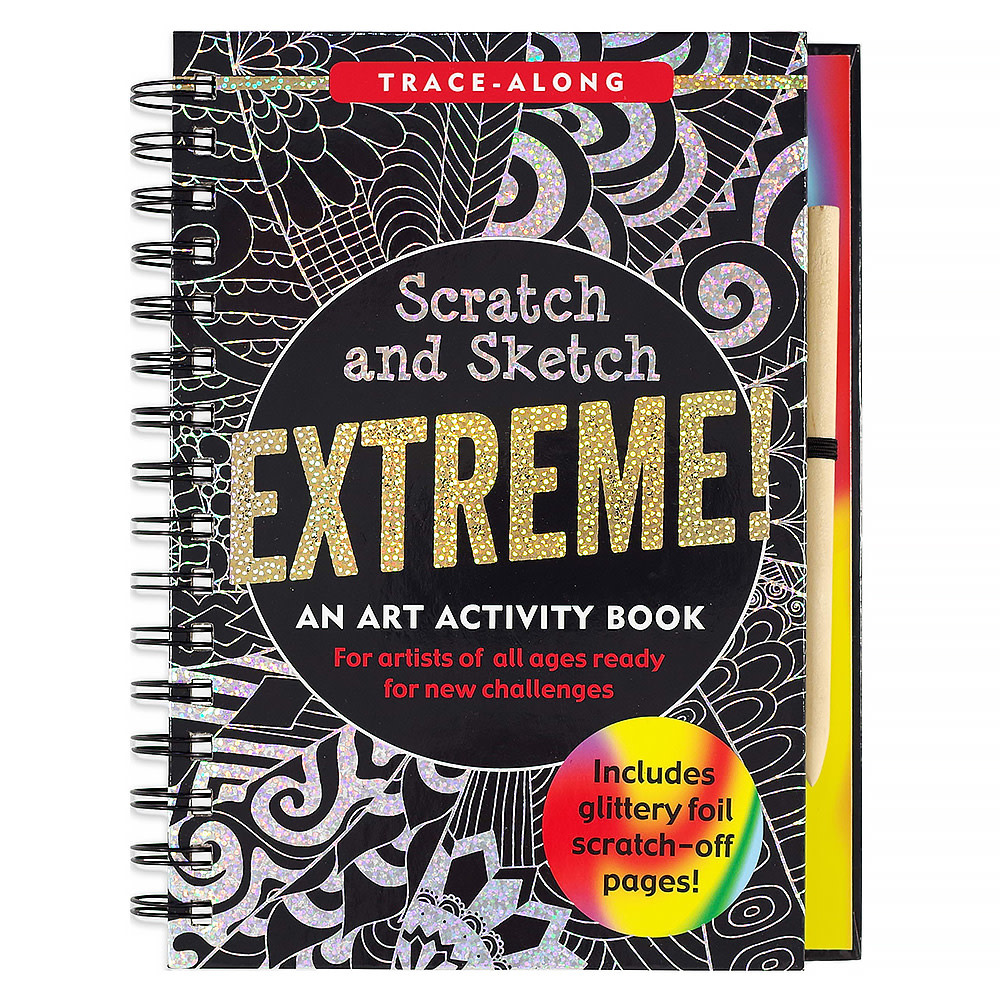 Peter Pauper Scratch and Sketch Extreme