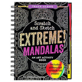 Peter Pauper Scratch and Sketch Extreme Mandalas