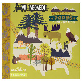 Gibbs Smith All Aboard National Parks Board Book