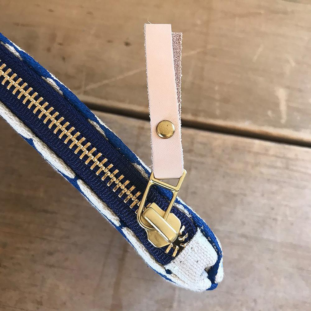 Erin Flett Pencil Zipper Bag Royal Third Eye