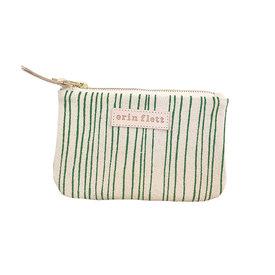 Erin Flett Erin Flett Card Wallet Pouch - Kelly Skinny Stripe