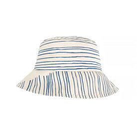 Erin Flett Erin Flett Bucket Hat - Royal Skinny Stripe - Onesize