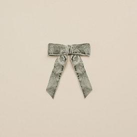 Noralee Noralee Velvet Bow - Eucalyptus