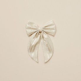 Noralee Noralee Oversized Bow - Champagne