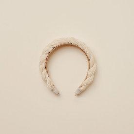 Noralee Noralee Velvet Braided Headband - Antique