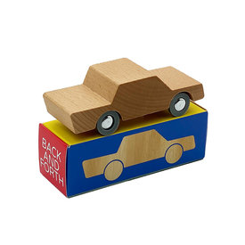 WaytoPlay Toys Wooden Toy Car Back & Forth - Woody