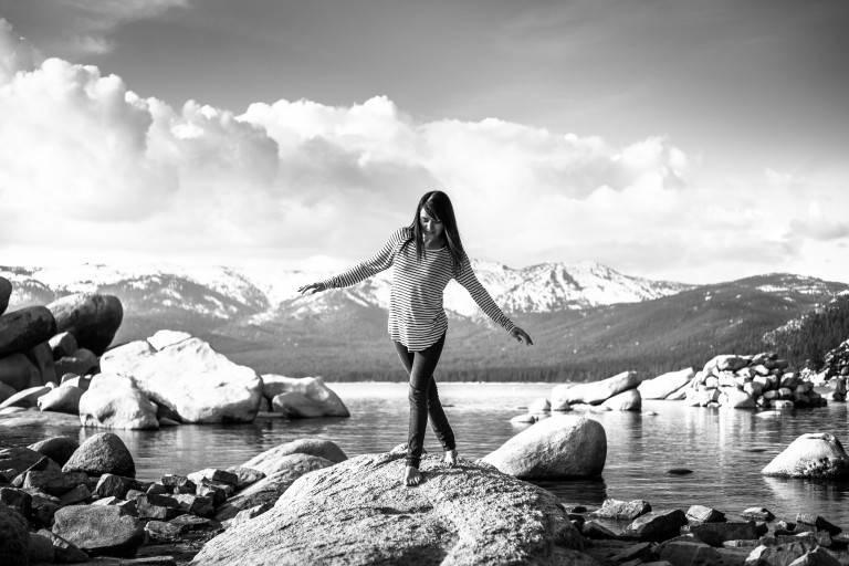 Tahoe in Black & White