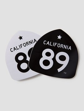 California 89 Large CA89 Sticker
