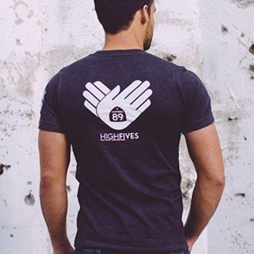 California 89 Men's High Fives Foundation Tee