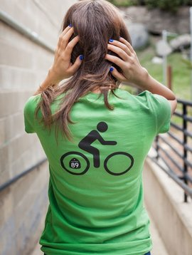California 89 Women's V-Neck Bike  Tee