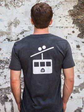 Men's Tshirt Men's V-Neck Gondola Tee