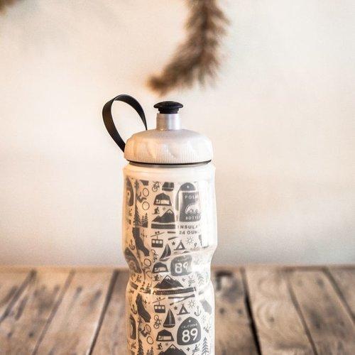 California 89 CA89 Mural Polar Water Bottle