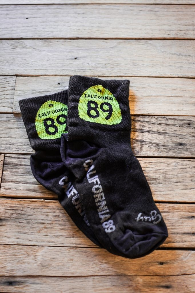 California 89 CA89 Sock Guy Bike Socks