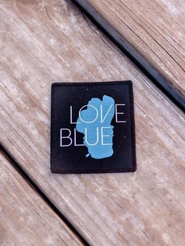 California 89 Love Blue Patch