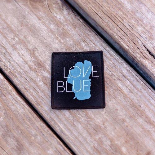 California 89 Love Blue Patch