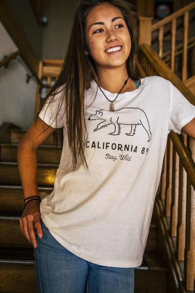 California 89 Women's Stay Wild Tee