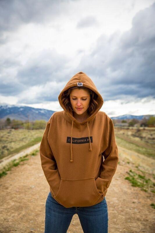 California 89 Unisex Hooded Sweatshirt with California 89 box