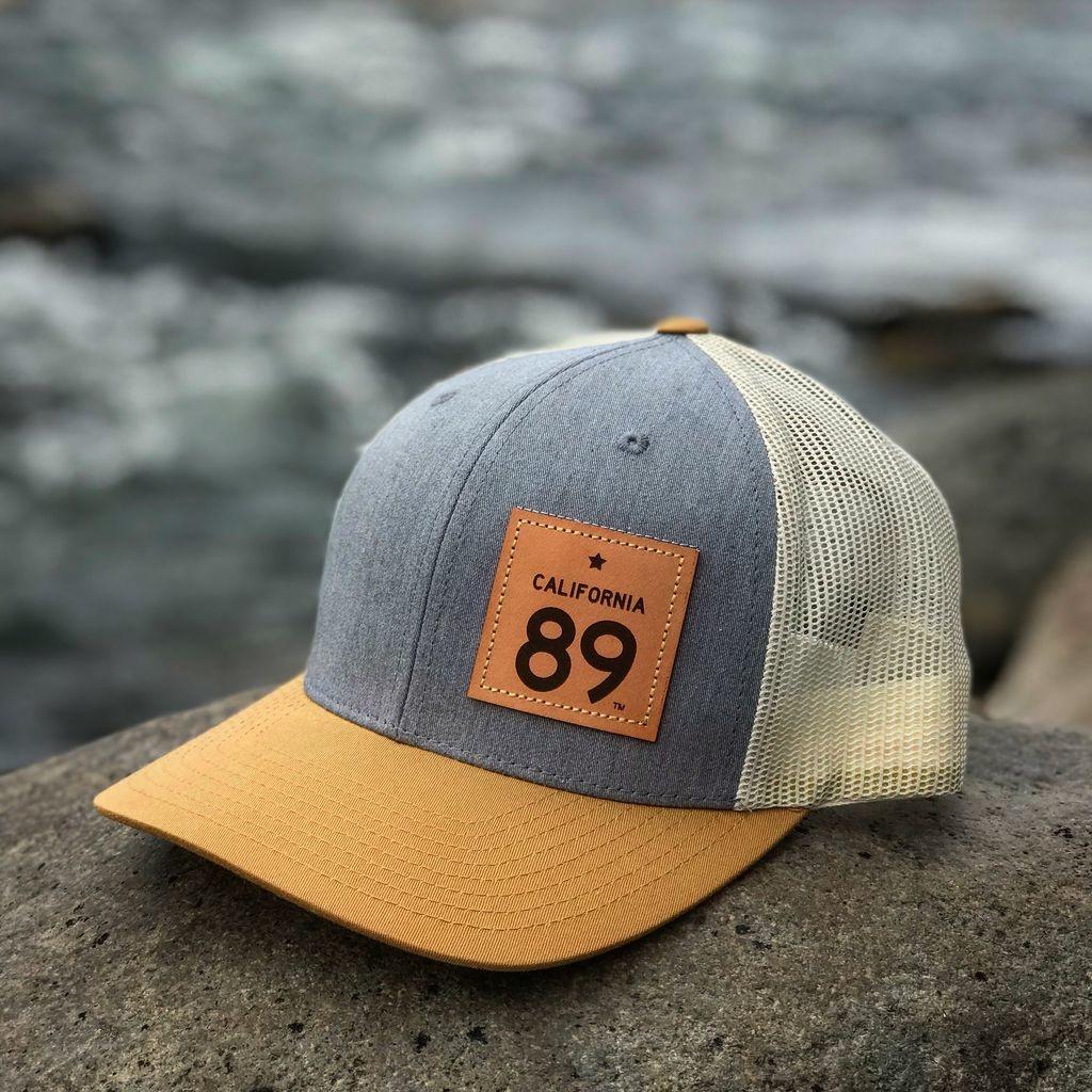 California 89 Grey & Gold Capteur Snapback Hat