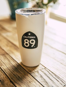California 89 CA89 Love Blue Insulated MiiR 16oz Travel Cup