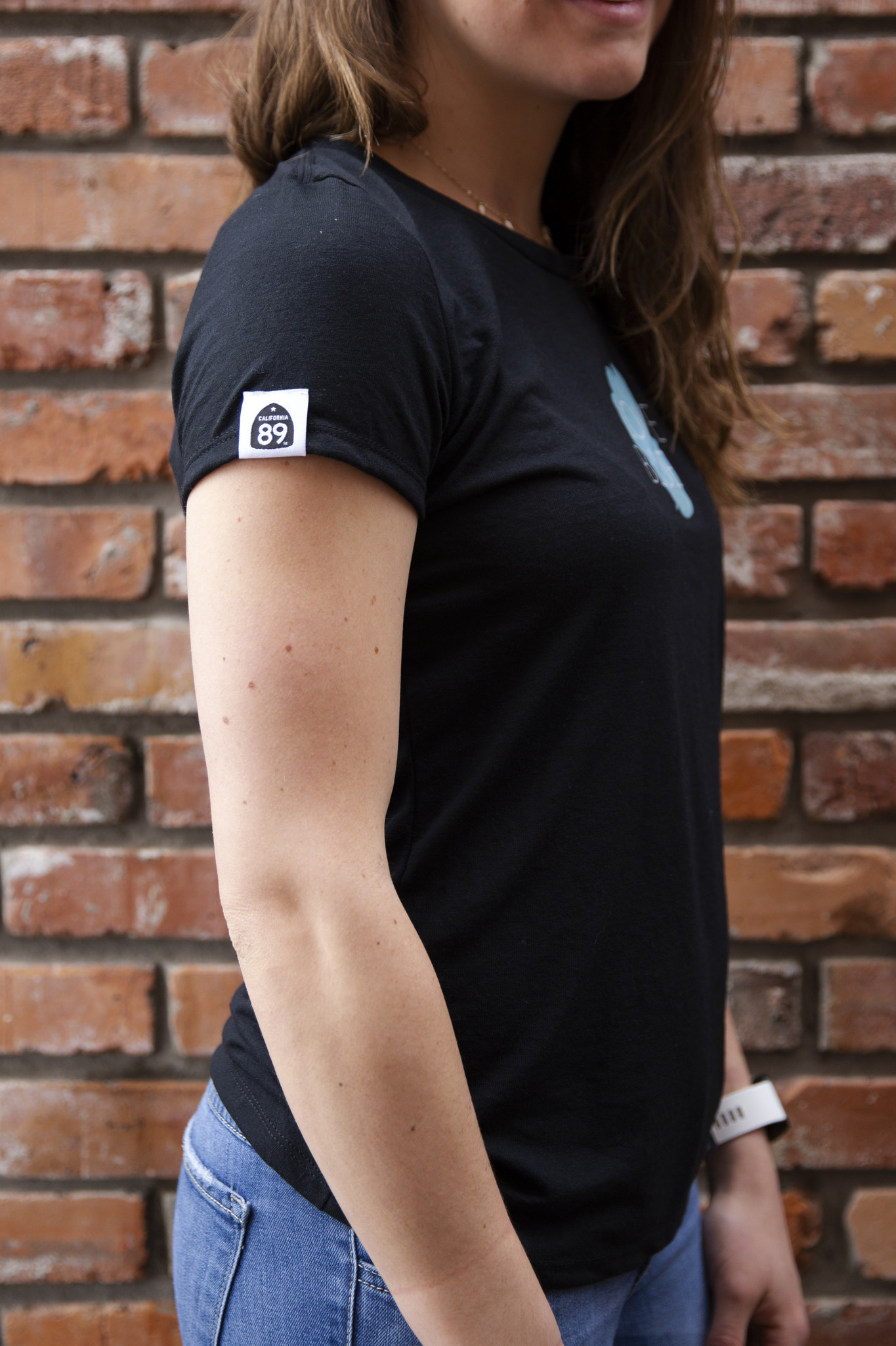 California 89 Women's Love Blue Sport Tee