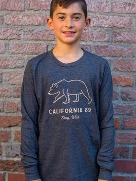 California 89 Kid's Long Sleeve Stay Wild Tee