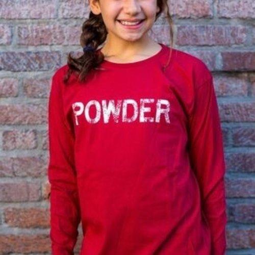 California 89 Kid's Long Sleeve Powder Tee