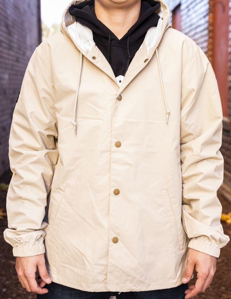 California 89 Men's Hooded Windbreaker Jacket