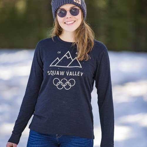 California 89 Squaw Valley Women's Long Sleeve Tee