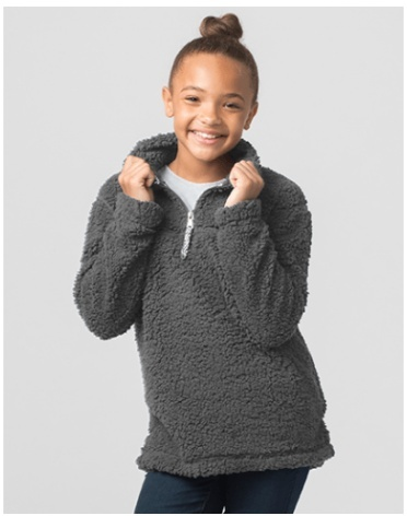 California 89 Kid's Sherpa 1/4 zip pullover