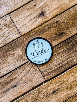 California 89 CA89 Wander Sticker