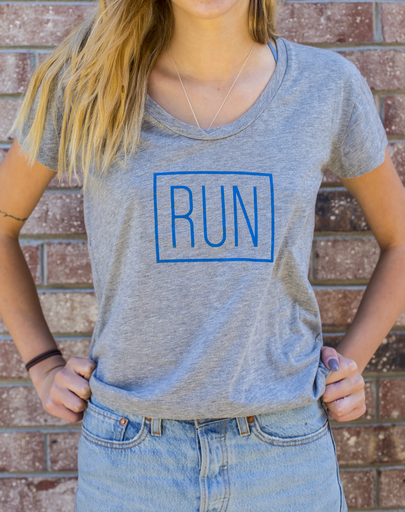 California 89 Women's RUN Road Trip Tee