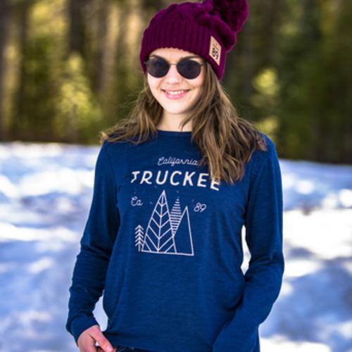 California 89 Women's Long Sleeve Truckee Tee