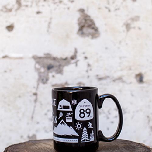 Mugs CA89 Coffee Mug with Wall Graphic