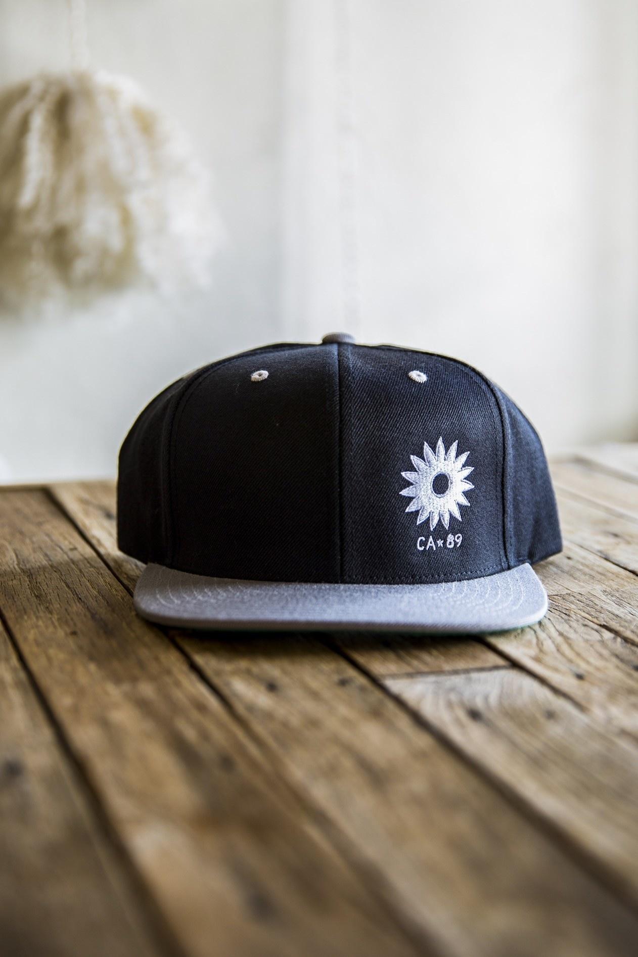 California 89 Sunflower Flattop Snapback Cap