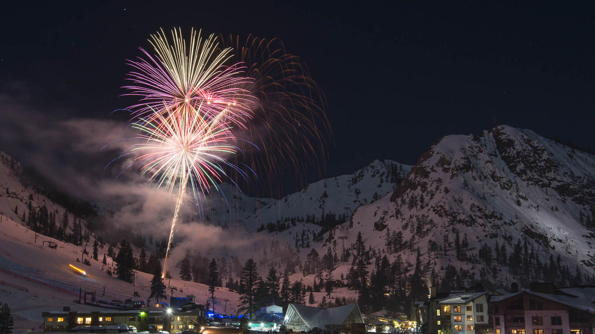 Fireworks at Squaw