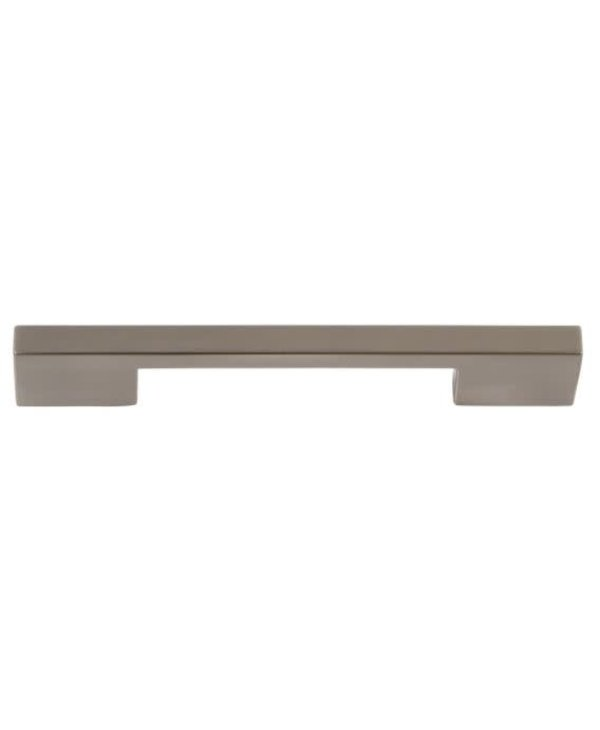 Thin Square Pull 5 1/16 Inch (c-c) - Brushed Nickel